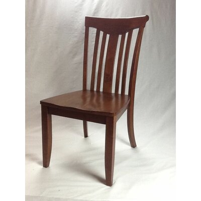Modern Solid Wood Dining Chair Finish: Cinnamon / Cinnamon