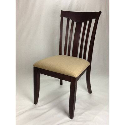 Modern Side Chair Finish: Mocha