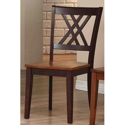 Solid Wood Dining Chair Finish: Whiskey / Mocha
