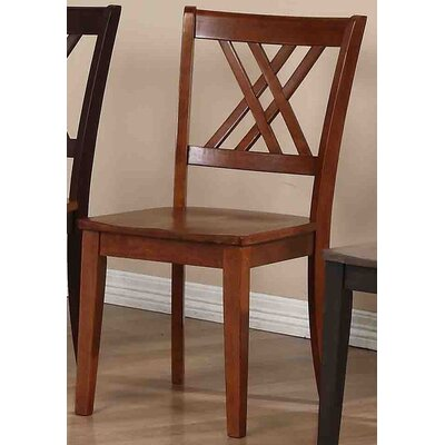 Solid Wood Dining Chair Finish: Cinnamon / Cinnamon