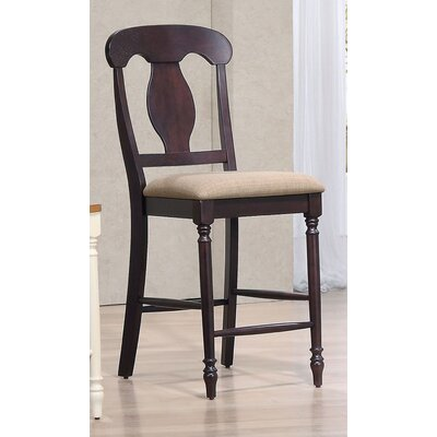 24 Bar Stool Finish: Mocha
