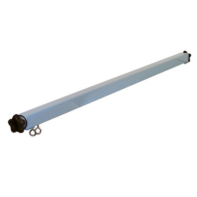 Light Tool Suspension Frame Size: 1.63 H x 72 W x 1.63 D, Finish: Gray