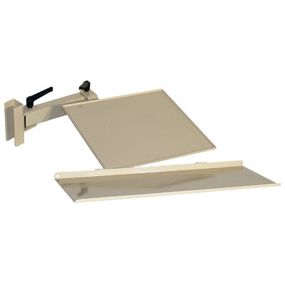 5.625 H x 35.5 W Desk Keyboard Tray Finish: Beige