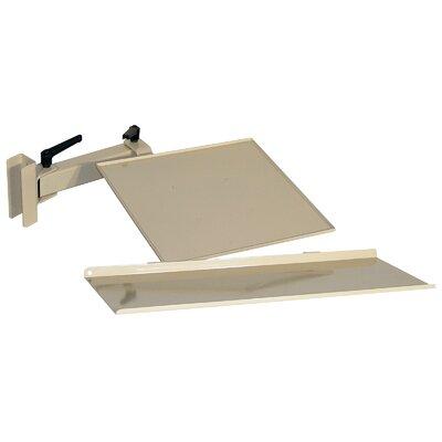 5.625 H x 35.5 W Desk Keyboard Tray Finish: Beige