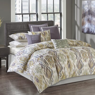 Tboli 4 Piece Comforter Set Size: King