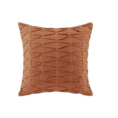 Nara Cotton Throw Pillow Color: Orange