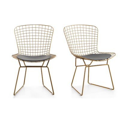 M38 Wire Side Chair Color: Gray