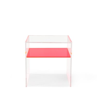End Table Table Top Color: Pink