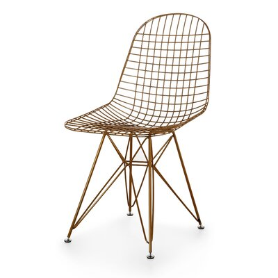 Wire Side Chair Finish: Gold
