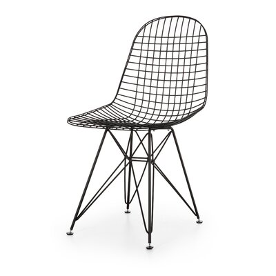 Wire Side Chair Finish: Gunmetal