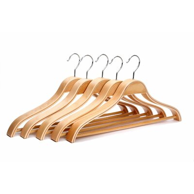 Solid Wooden Men Suit/Clothes Hanger with Hook Eisho CJ-003