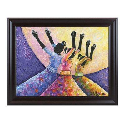 Praise Him Framed Painting Print