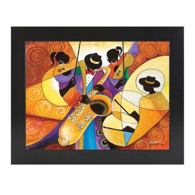 All That Jazz Framed Painting Print