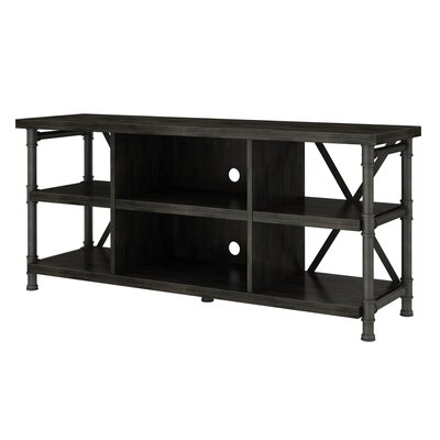 Bailys 54 TV Stand Color: Black, Fireplace Included: No