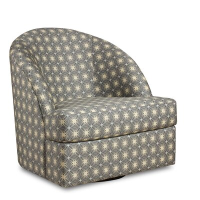 Wexford Bohemia Swivel Barrel Chair