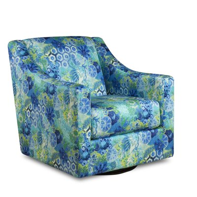 Winslet Windflower Swivel Arm Chair