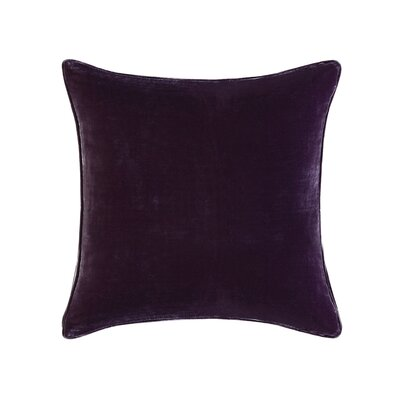Winward Velvet Throw Pillow Color: Purple