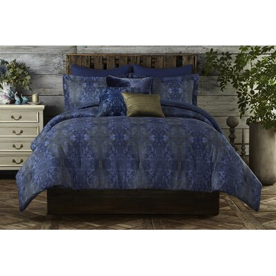 Gigi Reversible Comforter Set Size: King