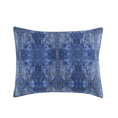 Gigi Sham Size: Standard, Color: Blue