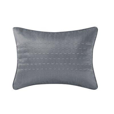 Gigi Lumbar Pillow Color: Gray