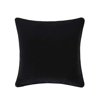 Winward Velvet Throw Pillow Color: Gray
