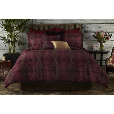 Gigi Reversible Comforter Set Size: Full / Queen