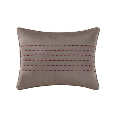Gigi Lumbar Pillow Color: Red