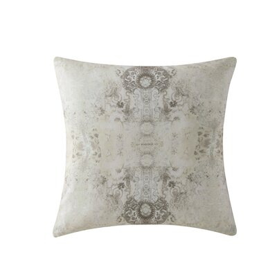 Gigi 100% Cotton Throw Pillow Color: Tan
