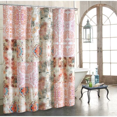 Wish Cotton Shower Curtain