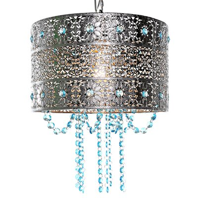 Poetic Wanderlust Drum Chandelier