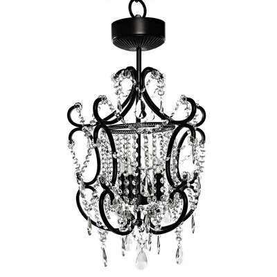 Poetic Wanderlust by Tracy Porter Jeweled 4-Light LED Crystal Chandelier