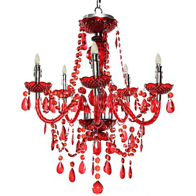 Poetic Wanderlust 5-Light Crystal Chandelier