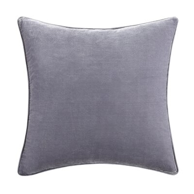Alouette Solid Velvet Throw Pillow