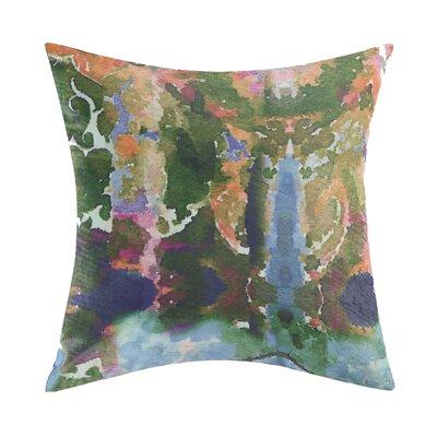 Mathilde Printed Velvet Throw Pillow