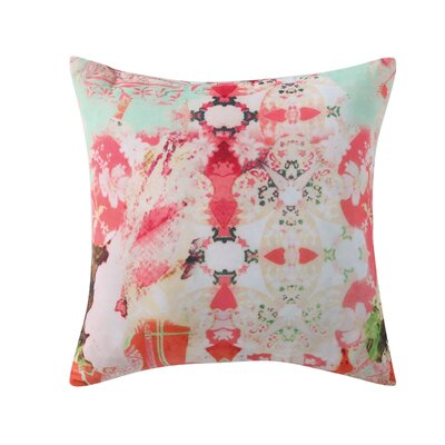 Franny Printed Velvet Throw Pillow