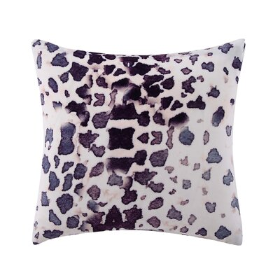 Tilda Printed Velvet Throw Pillow
