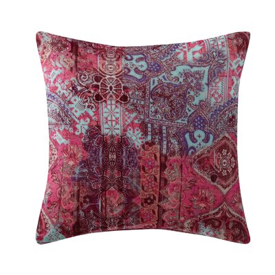 Emmeline Printed Velvet Throw Pillow