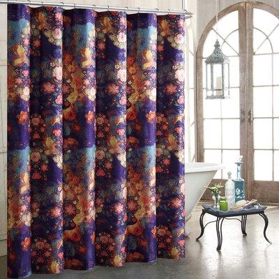 Fleur 100% Cotton Shower Curtain