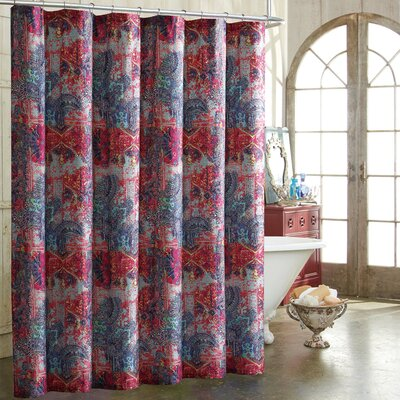 Nell 100% Cotton Shower Curtain