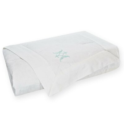 Modern Lattice Jacquard Down 100% Cotton Blanket Size: King, Color: White