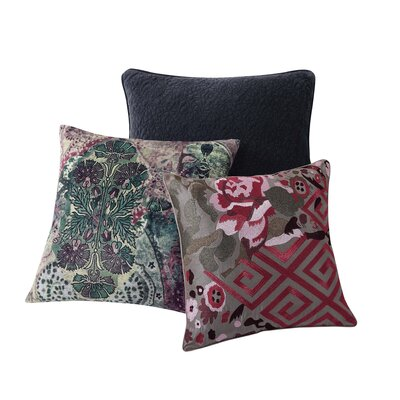 Amelia Decorative 100% Cotton Throw Pillow