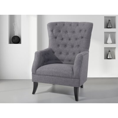 Pursell Arm Chair Upholstery: Dark Gray