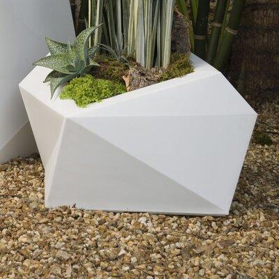 Crescent Garden Origami Resin Pot Planter