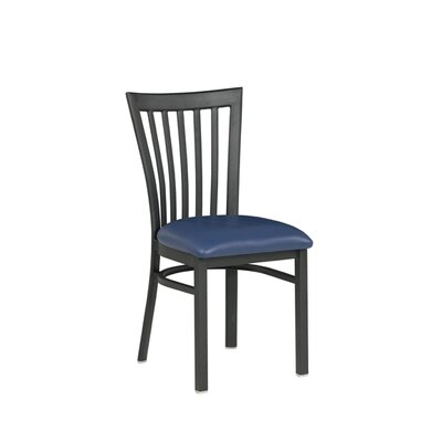 Side Chair Upholstery: Slate Blue