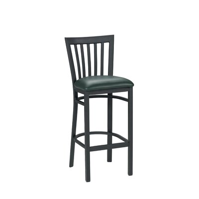 30.5 Bar Stool Upholstery: Slate Blue