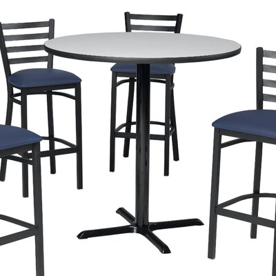 Pub Table Top Color: Graphite Nebula