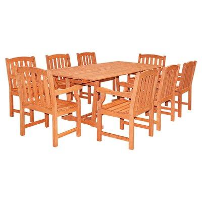 Patio 9 Piece Dining Set