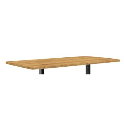 Classic 1 H x 53 W Desk Table Top Finish: Bamboo