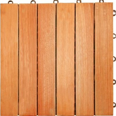 Eucalyptus 12 x 12 Interlocking Deck Tile