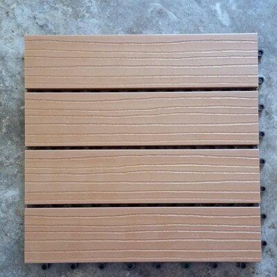 Composite Cedar 12 x 12 Interlocking Deck Tiles